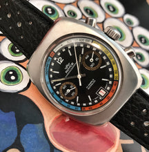 KILLER~70s ROYCE MULTICOLOR VAL.7734 RALLYE CHRONO~WITH BOX