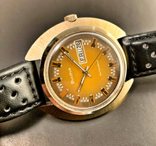 WILD~1973 BULOVA JETSTAR DAY/DATE AUTOMATIC~SERVICED