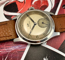 CHIC~50s FRENCH LIP PARE CHOC 2-TONE RADIAL FLIP DIAL