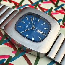 BLUBLOCKER~1973 BULOVA JET STAR TV SCREEN~ORIGINAL BRACELET
