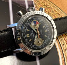 RUGGED~60s OLLECH & WAJS VALJOUX 92 YACHTING CHRONO
