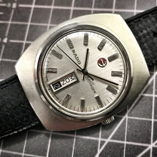 STEELY~EARLY 70s RADO VOYAGER DAY/DATE AUTOMATIC~SERVICED