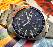 SHARP~APRIL 1972 SEIKO BLUE POGUE 6139-6005