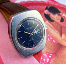HANDSOME~1971 BULOVA CARAVELLE DAY/DATE AUTOMATIC