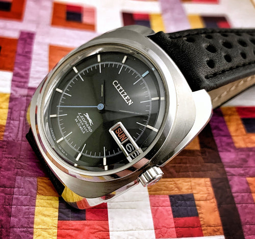 SLICK~1970 CITIZEN LEOPARD SUPER BEAT AUTOMATIC~SERVICED