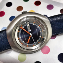 SPACE-AGE~FUNKY 1973 HAMILTON SELFWINDING DAY/DATE~WITH BOX