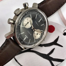 MANLY~LARGE 60s ALL-STEEL BUREN VALJOUX 7733 CHRONO