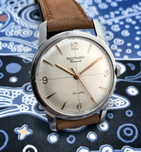 DEBONAIRE~60s ROTARY ULTRA-THIN VISCOUNT DRESS WATCH