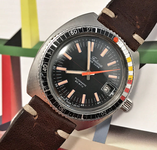 SLEEK~70s FELICIA DELUXE 20ATU SKIN-DIVER~SERVICED
