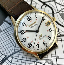 LATE 60s LONGINES ULTRA-CHRON RAILROAD WATCH. SERVICED
