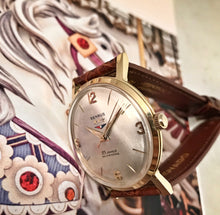 SERVICED~MID 60s MINTY BENRUS 3-STAR 25J AUTOMATIC~WITH BOX