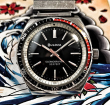 SMOOTH~1977 BULOVA OCEANOGRAPHER WITH ORIGINAL BRACELET