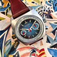 WILD~70s ZENTRA BIG EYE VALJOUX 7733 RACING CHRONO