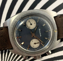 RARE~PRE-666 1969 BULOVA DEEP SEA GHOST DIVE-CHRONO