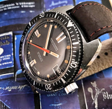 SUBLIME~60s WALTHAM SKIN-DIVER WITH BOX~RECENTLY SERVICED