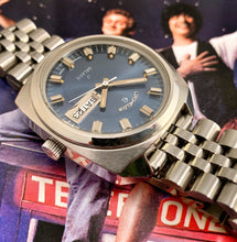 STELLAR~LATE 60s ELGIN GALAXIE DAY-DATER AUTOMATIC