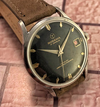 RUGGED~1950s RODANIA GILT DIAL 5500H~SERVICED