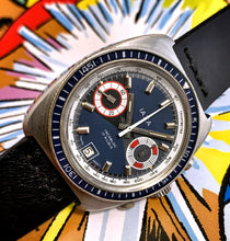 TRIPPY~70s IAXA BOW-TIE DIVE CHRONOGRAPH