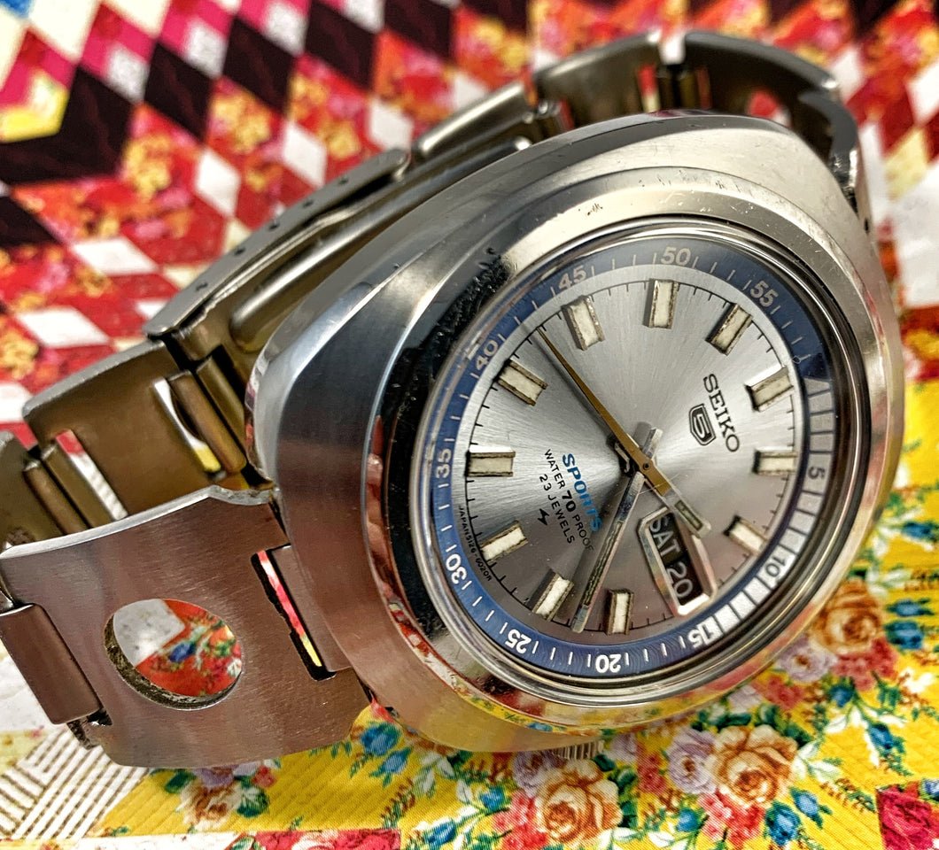 GNARLY~MAY 1969 SEIKO 5 SPORTS
