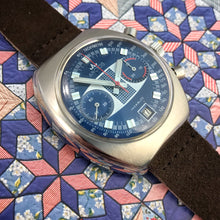 MINTY~70s ARCTOS GLOSS BLUE/WHITE SURFBOARD CHRONO~SERVICED