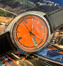 ORANGE CRUSH~JUNE 1973 SEIKO 7006-7169 AUTOMATIC