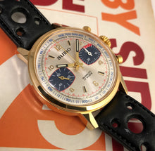MINTY~LATE 60s SUMO PANDA DIAL VALJOUX 7733 CHRONOGRAPH
