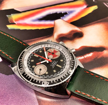 MENACING~70s TEMPO/YEMA BIG EYE DIVE CHRONOGRAPH