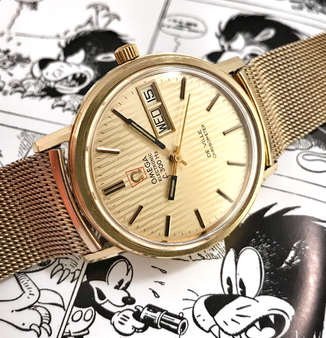 DAPPER~1972 OMEGA DEVILLE F300HZ CHRONOMETER