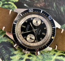 GNARLY~LATE 60s AZUR GLOSS DIAL DIVE CHRONOGRAPH