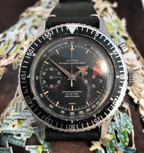 MID 60s NIVADA CROTON CHRONOMASTER AVIATOR SEA-DIVER~SERVICED