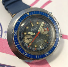 BEASTLY~FRENCH 70s BESSA CHRONAUTIC TROPICAL DIVE CHRONO