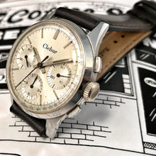 SUBLIME~MID 60s CLEBAR TRICOMPAX VENUS 178 COLUMN WHEEL CHRONO