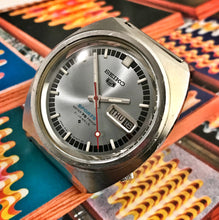 GROOVY~1968 SEIKO 5 SPORTS 6119-8130~SERVICED