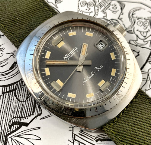 SLICK~LATE 60s NIVADA ANTARCTIC-SEA DIVER