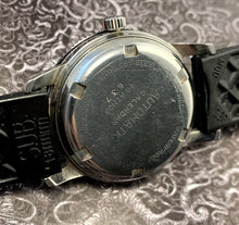 SERVICED~EARLY 60s CLEBAR SNOWFLAKE SKIN-DIVER AUTO