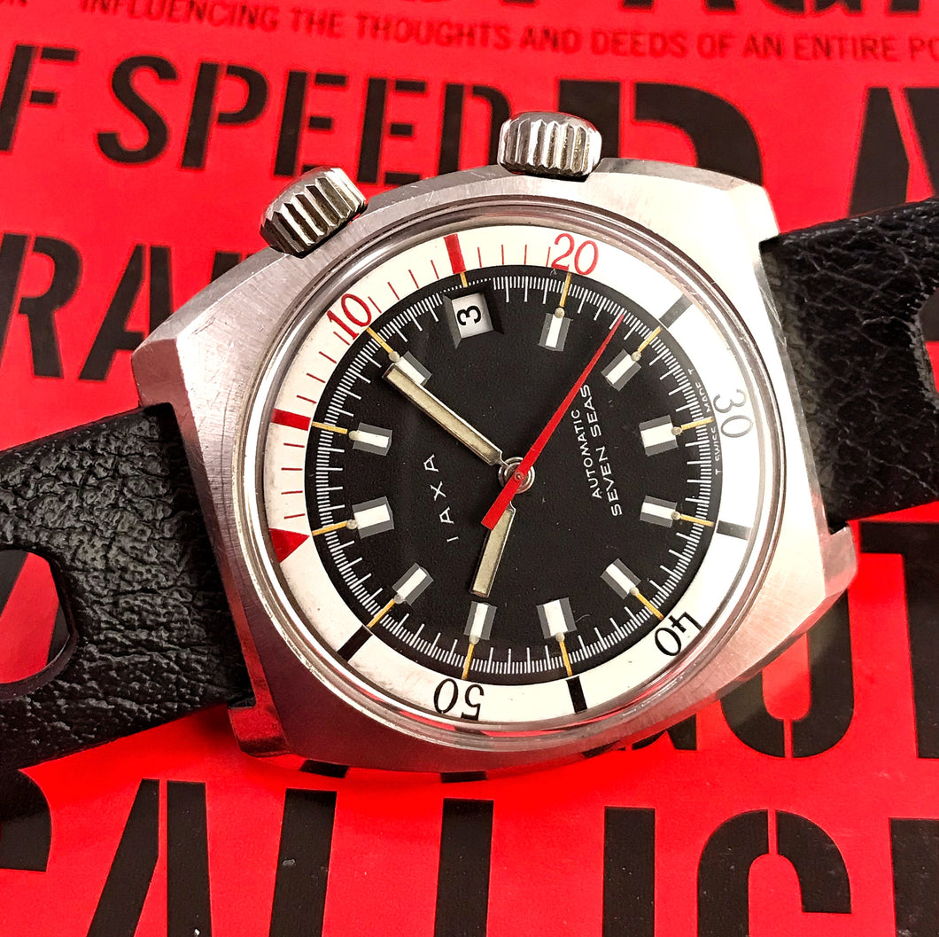 BOLD~1970 IAXA SEVEN SEAS SUPERCOMPRESSOR AUTOMATIC