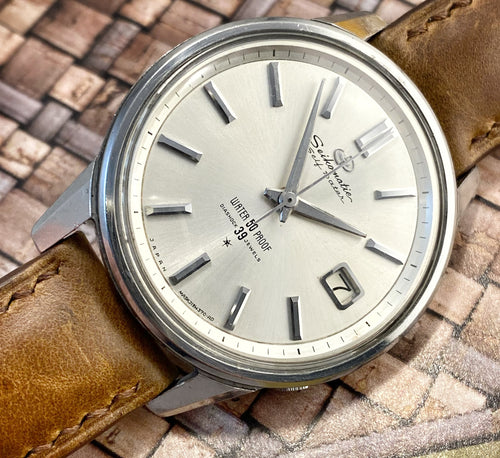 HUNKY~EARLY 60s 50 PROOF SEIKO SELFDATER
