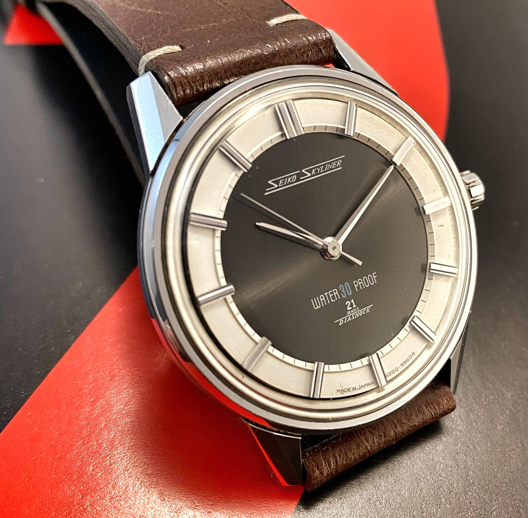 SEXY~EARLY 60s SEIKO SKYLINER 14092