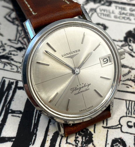 SUBLIME~CLASSY 1966 LONGINES FLAGSHIP AUTOMATIC