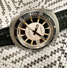 SHARP~1975 BULOVA-CARAVELLE 666 SHARK DIVER~SERVICED