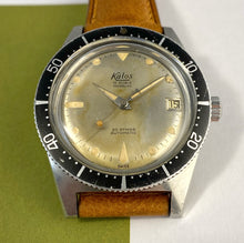 PATINA-PERFECT~MID 60s KALOS SQUALE SKIN-DIVER