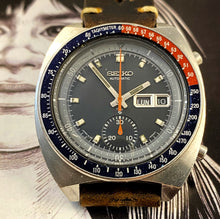 1973 SEIKO PEPSI POGUE 6139-6005~SERVICED