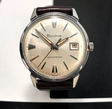 ELEGANT~1966 BULOVA GENT'S MANUAL WINDER~SERVICED