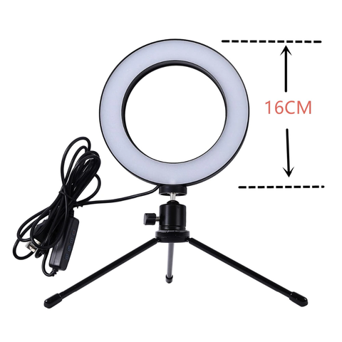 Ring Light COM Tripé - Anel de Luz