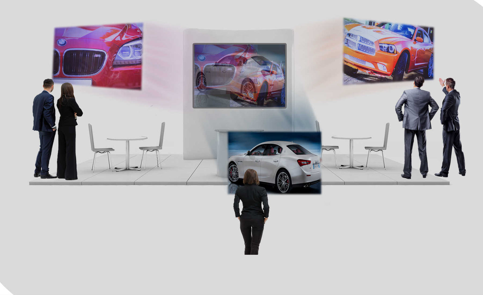 MirraViz Multiview Displays and Multiview Screens
