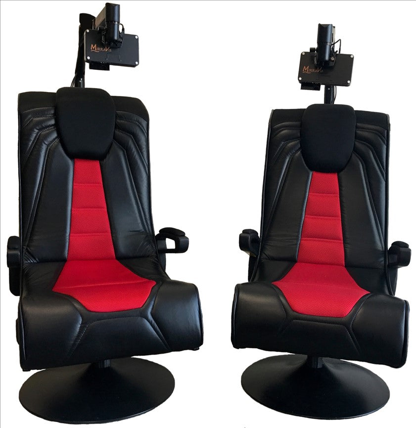 Gaming Chair Display System; Gaming Chair Display System ... & MirraViz MultiView Gaming System