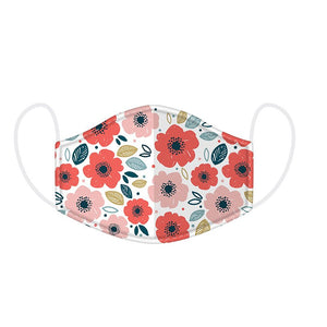 Kids Bright Flower Face Covering