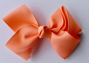 Orange Cream Bow