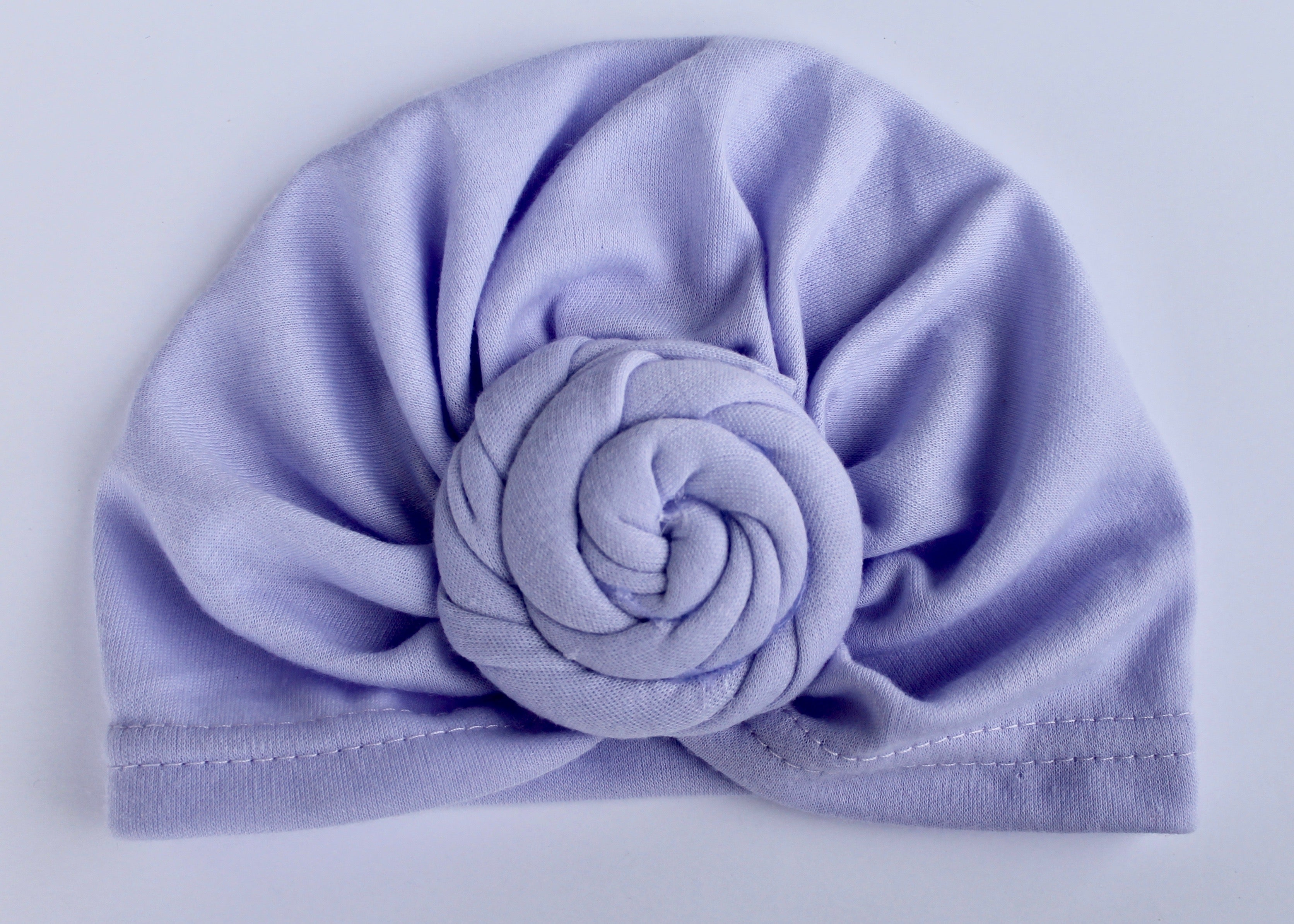 Purple Turban Hat