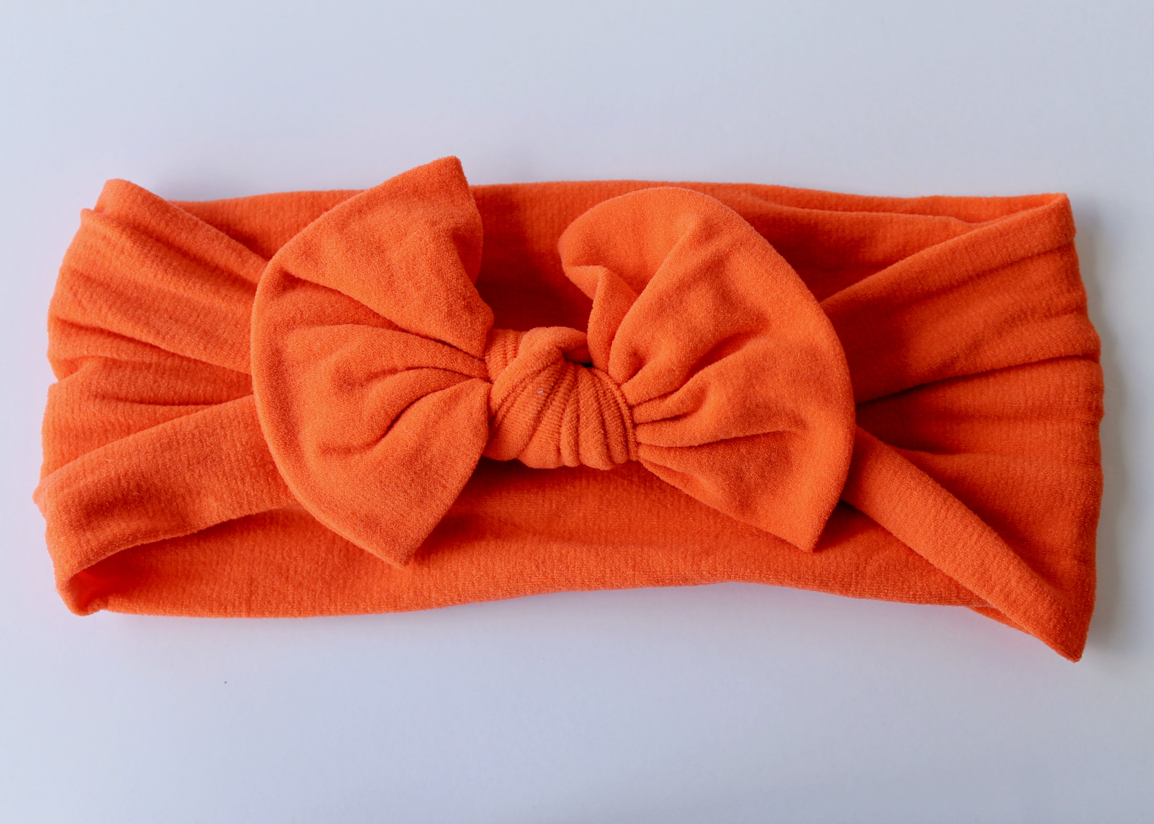 Orange Nylon Headband